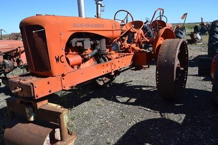 1948 Allis Chalmers WC - Farm Tractors & Equipment