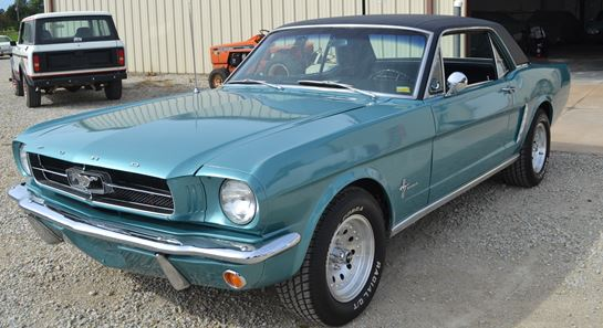 1965 Ford Mustang - Vehicles